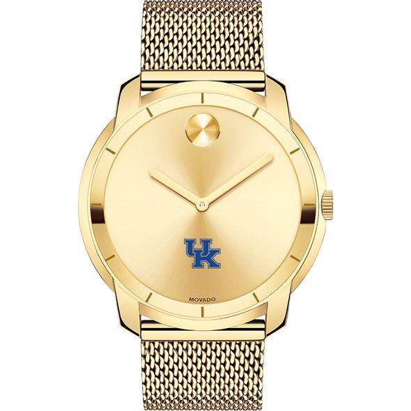 University of Kentucky Men's Movado Gold Bold 44 - Image 2