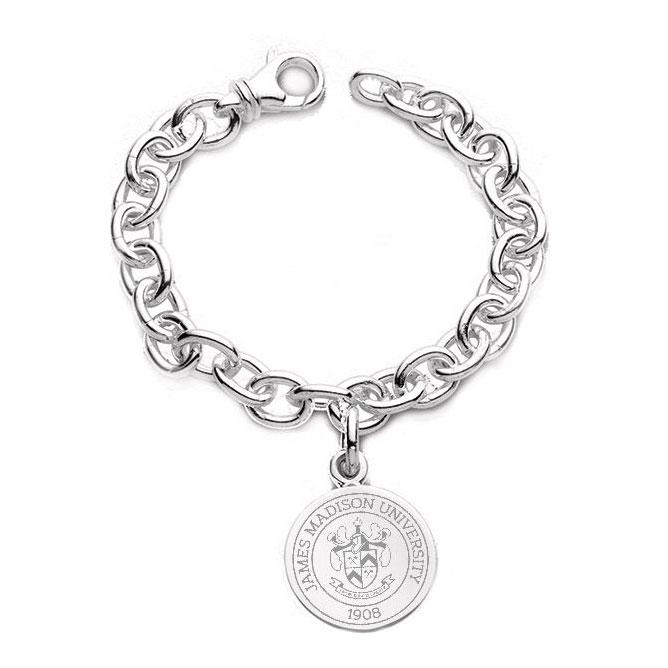 James Madison Sterling Silver Charm Bracelet