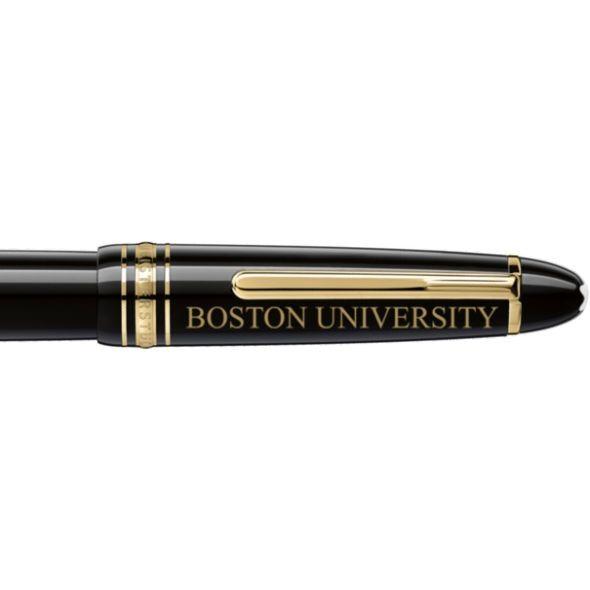 Boston University Montblanc Meisterstück LeGrand Rollerball Pen in Gold - Image 2