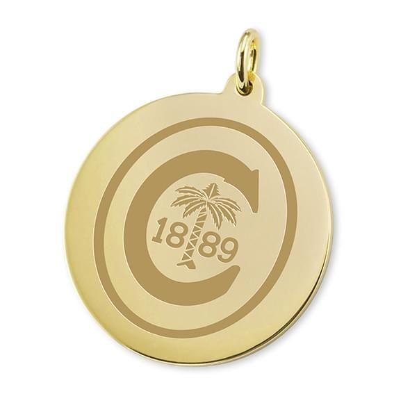 Clemson 18K Gold Charm