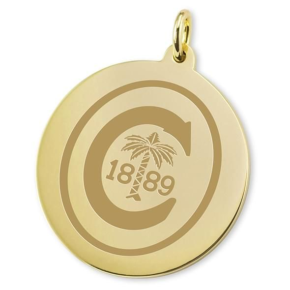 Clemson 18K Gold Charm - Image 2