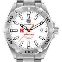 Rutgers University Men's TAG Heuer Steel Aquaracer