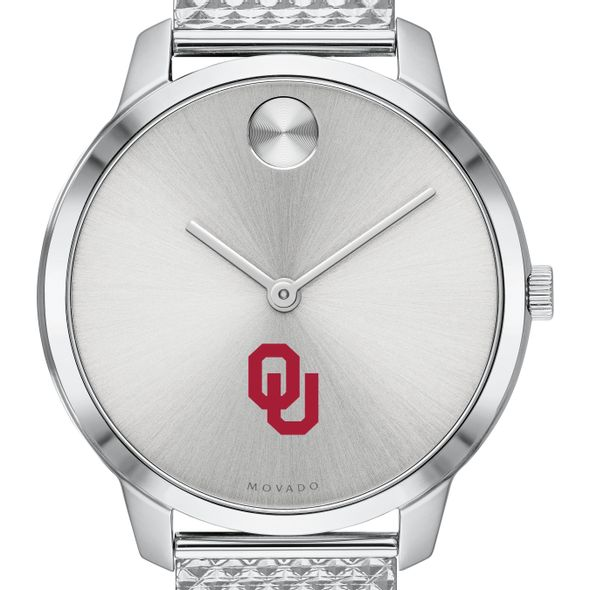 University of Oklahoma Women's Movado Stainless Bold 35