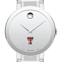 Texas Tech Men's Movado Sapphire Museum with Bracelet
