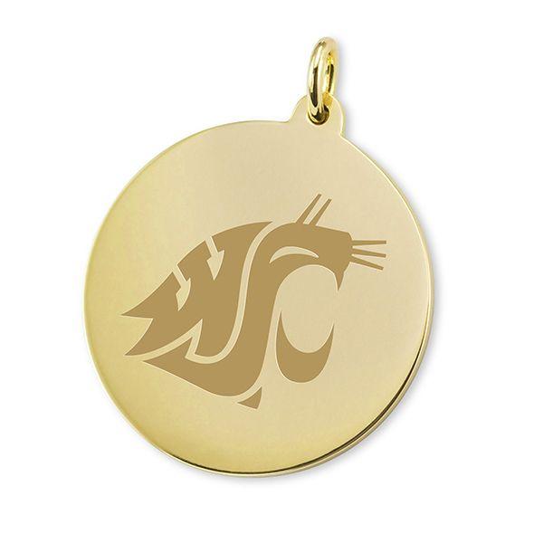 Washington State University 18K Gold Charm