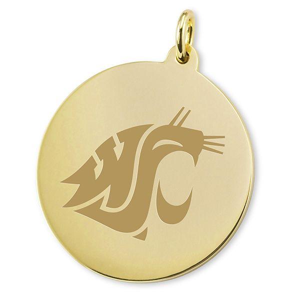Washington State University 18K Gold Charm - Image 2