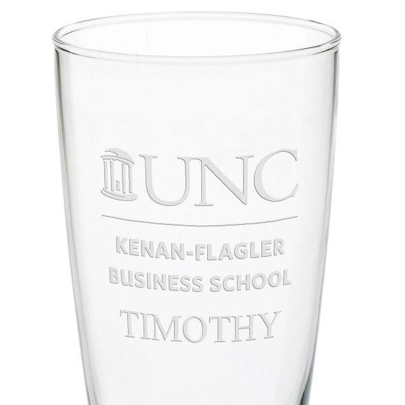 UNC Kenan-Flagler 20oz Pilsner Glasses - Set of 2 - Image 3