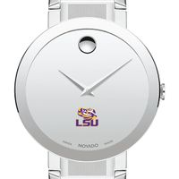 Louisiana State University Men's Movado Sapphire Museum with Bracelet
