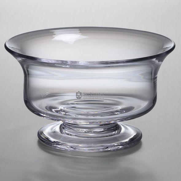 St. John's Simon Pearce Glass Revere Bowl Med - Image 1