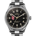 St. John's Shinola Watch, The Vinton 38mm Black Dial - Image 1