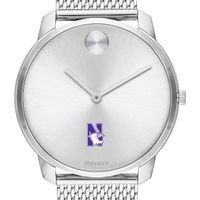 Northwestern University Men's Movado Stainless Bold 42