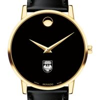 University of Chicago Men's Movado Gold Museum Classic Leather