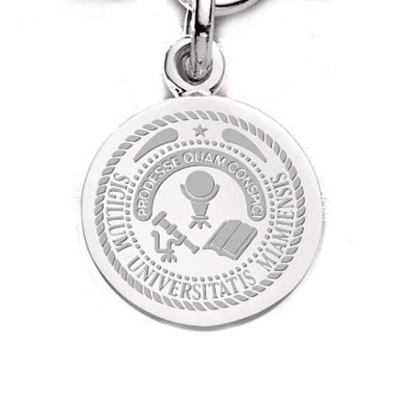 Miami University Sterling Silver Charm - Image 1