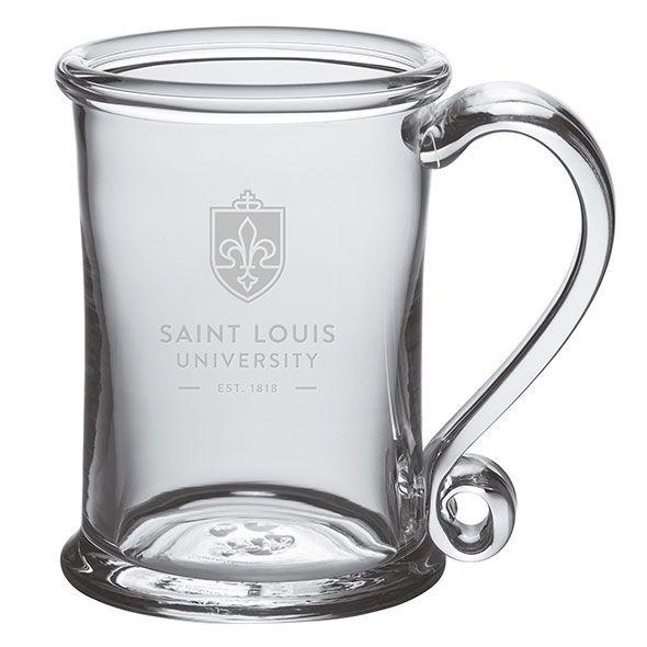 Saint Louis University Glass Tankard by Simon Pearce