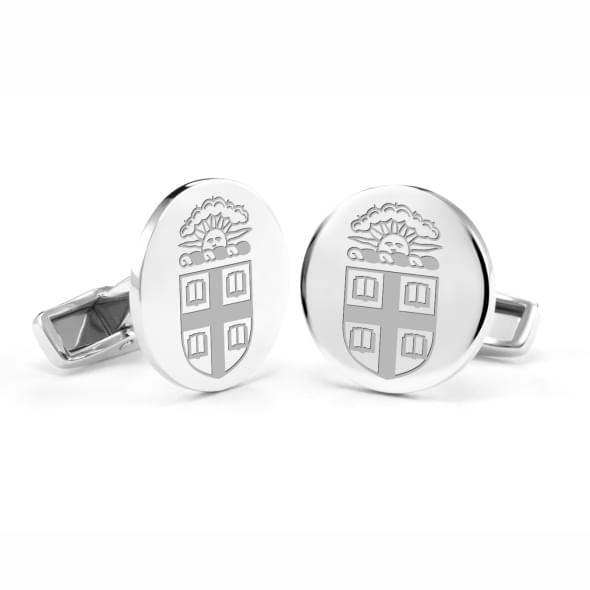 Brown University Cufflinks in Sterling Silver
