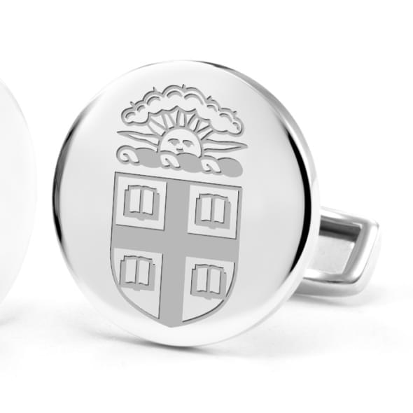 Brown University Cufflinks in Sterling Silver - Image 2