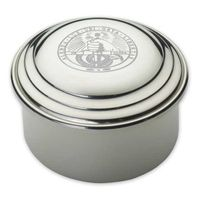 Davidson College Pewter Keepsake Box