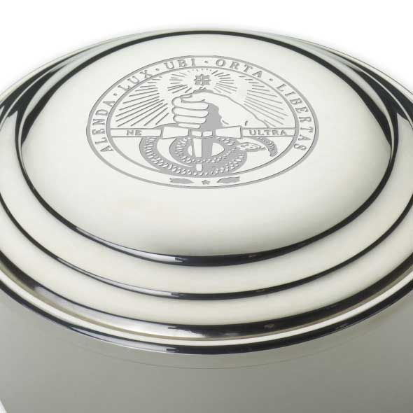 Davidson College Pewter Keepsake Box - Image 2