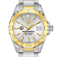 Embry-Riddle Women's TAG Heuer Two-Tone Aquaracer