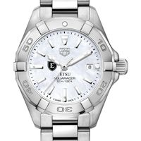 East Tennessee State University Women's TAG Heuer Steel Aquaracer w MOP Dial