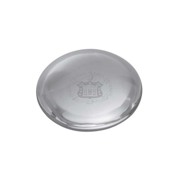 Trinity College Glass Dome Paperweight by Simon Pearce