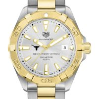 University of Texas Men's TAG Heuer Two-Tone Aquaracer