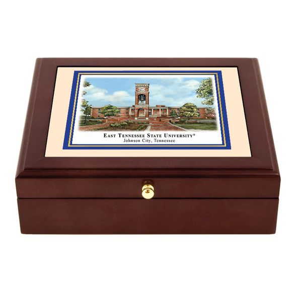 East Tennessee State Eglomise Desk Box - Image 1