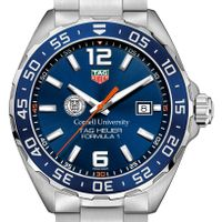 Cornell University Men's TAG Heuer Formula 1 with Blue Dial & Bezel
