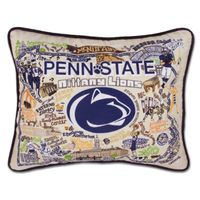 Penn State Embroidered Pillow