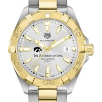 University of Iowa Men's TAG Heuer Two-Tone Aquaracer