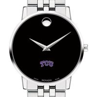 Texas Christian University Men's Movado Museum with Bracelet
