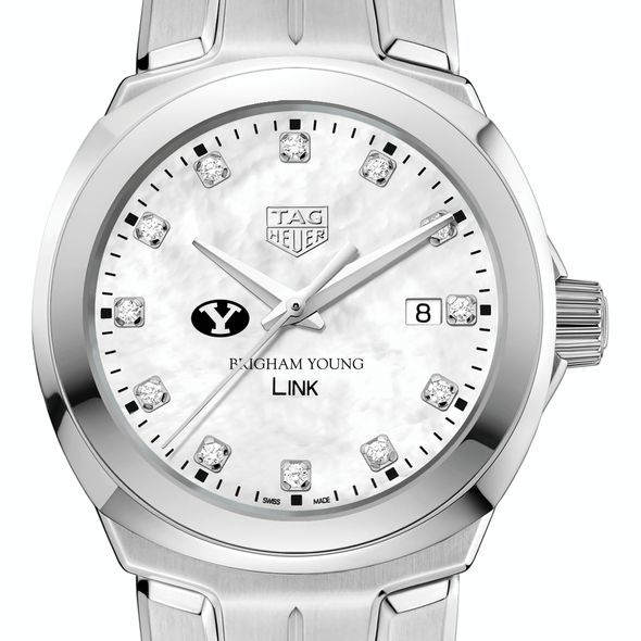 Brigham Young University TAG Heuer Diamond Dial LINK for Women