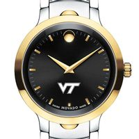 Virginia Tech Men's Movado Luno Sport Two-Tone