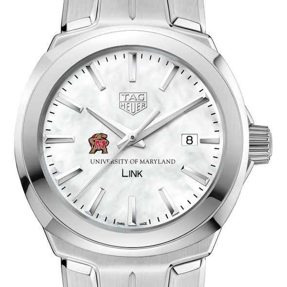 University of Maryland TAG Heuer LINK for Women