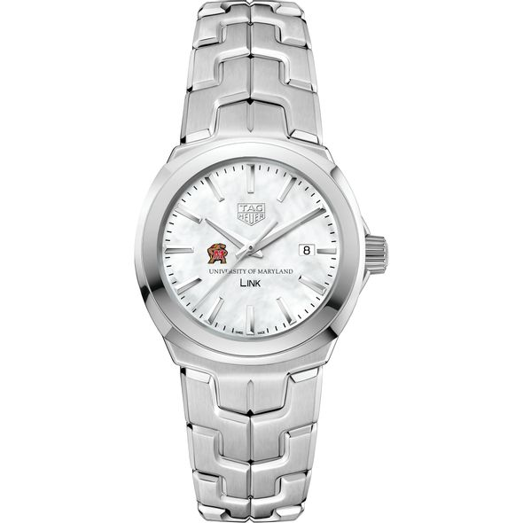 University of Maryland TAG Heuer LINK for Women - Image 2