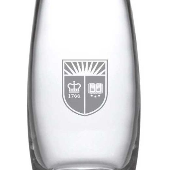 Rutgers University Glass Addison Vase by Simon Pearce - Image 2