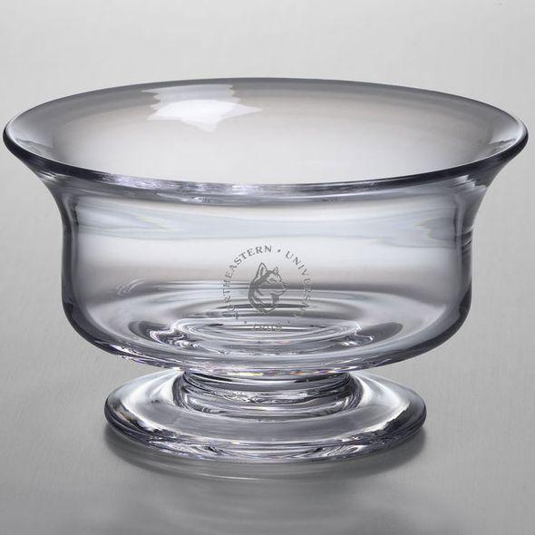 Northeastern Simon Pearce Glass Revere Bowl Med - Image 1