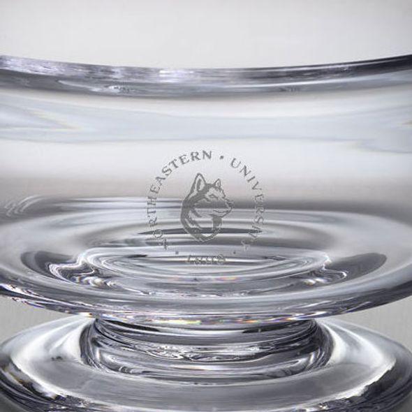 Northeastern Simon Pearce Glass Revere Bowl Med - Image 2