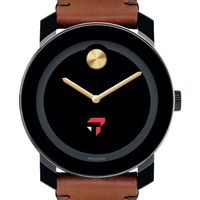Tepper Men's Movado BOLD with Brown Leather Strap
