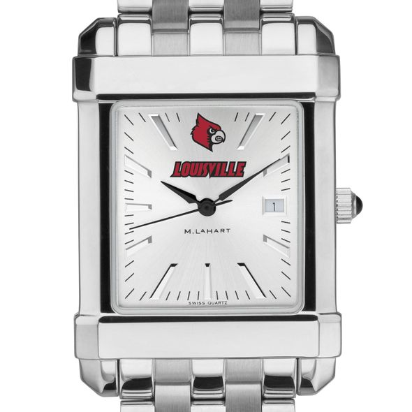 University of Louisville Men's Collegiate Watch w/ Bracelet