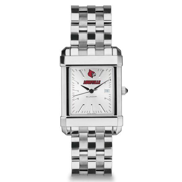 University of Louisville Men's Collegiate Watch w/ Bracelet - Image 2