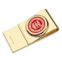 WashU Enamel Money Clip
