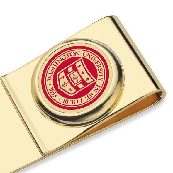 WashU Enamel Money Clip - Image 2