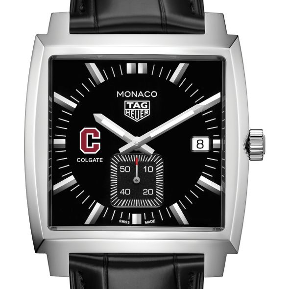 Colgate University TAG Heuer Monaco with Quartz Movement for Men