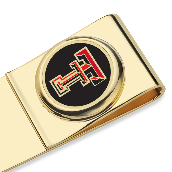 Texas Tech Enamel Money Clip - Image 2