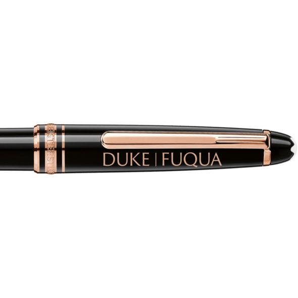 Duke Fuqua Montblanc Meisterstück Classique Ballpoint Pen in Red Gold - Image 2