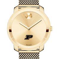 Purdue University Women's Movado Gold Bold 36