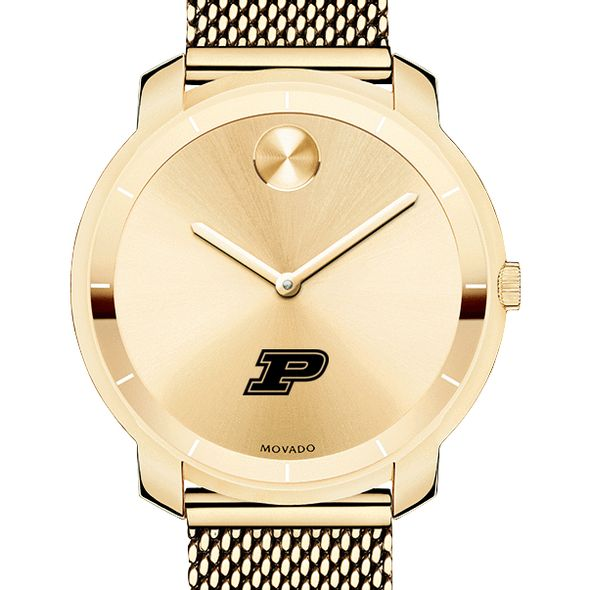 Purdue University Women's Movado Gold Bold 36