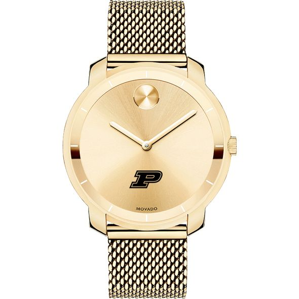 Purdue University Women's Movado Gold Bold 36 - Image 2