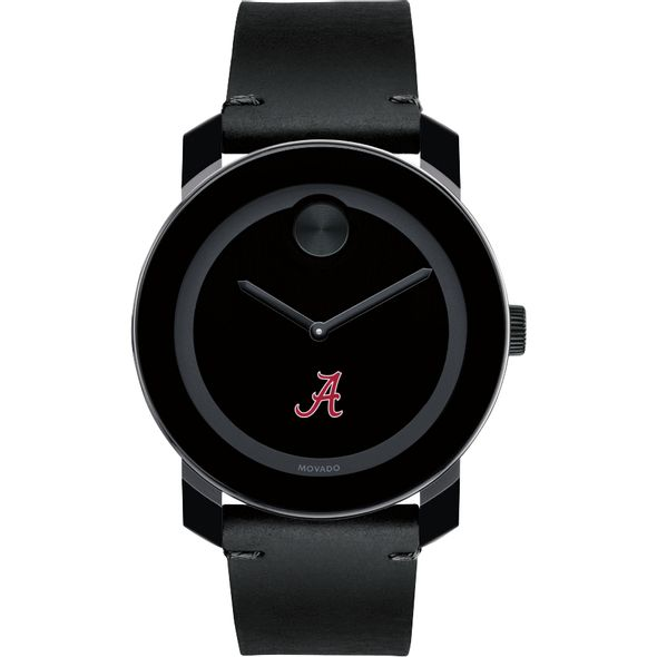 University of Alabama Men's Movado BOLD with Leather Strap - Image 2